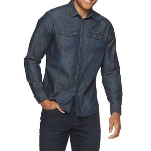 Marc Anthony Denim-look Button-up shirt